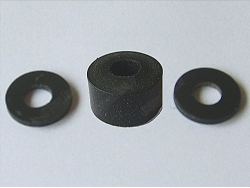 Replacement Silicone plunger/washer with rigid polymer backers for 1394