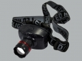 Headlight LED Zoom Budget Black Model