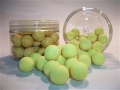 Fluoro Lime Yellow Popup Boilie - Tub