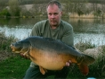 Andy, 3rd May<br />33lb 12oz mirror
