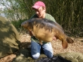Dave, 18th Apr<br />35lb mirror