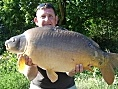 Elphics, 20th May<br />31lb 08oz mirror