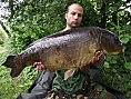 James Green<br />29lb 08oz mirror