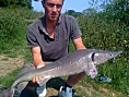 14th Jun<br />16lb sturgeon