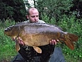 James Green, 17th Jul<br />19lb mirror