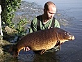 James Green, 31st Jul<br />2. PB 38lbs 13oz common