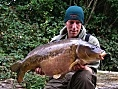 Andy Foreman, 8th Oct<br />34lb ghostie linear