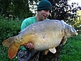 Andy, France, 15th Oct<br />42lb 08oz mirror