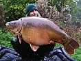 Brian, France, 17th Oct<br />Etang d'Bois, 60lb 12oz