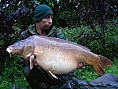 Gary, France, 19th Oct<br />41lb mirror