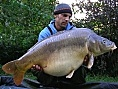 Neil, France, 20th Oct<br />48lb 12oz mirror