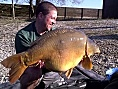 Matt Grinham, 24th Oct<br />France, 50lb 10oz carp