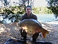 Luke, France, 28th Oct<br />Mayflower l'k, 39lb carp