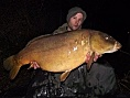 James Green, 17th Mar<br />36lb 08oz PB mirror