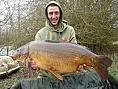 Lee Phillips, 25th Mar<br />36lb 06oz mirror