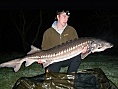 John Guest, 30th Mar<br />58lb 12oz sturgeon