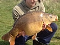 Jay Carrol, 14/15th Apr<br />19lb 08oz mirror