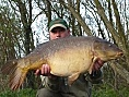 Alan Jackson, 23rd Apr<br />34lb 02oz mirror