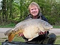 Mark Wilson, 22nd Apr<br />33lb 13oz mirror