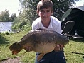 Kieron Horton, 4th Aug<br />29lb mirror