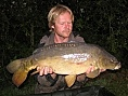 Mark Wilson, 9th Aug<br />18lb 13oz mirror