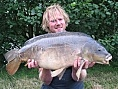 Mark Wilson, 9th Aug<br />27lb 12oz mirror
