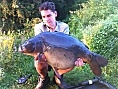 Lewis Tomlinson, 22nd Aug<br />PB 30lb mirror