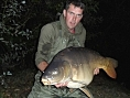 Tom Stirman, 1st Nov<br />France 39lb 10oz mirror