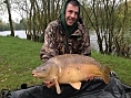Adam Taylor, 1st May<br />33lb mirror