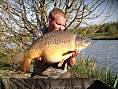 Sam Harris, 1st May<br />29lb 08oz mirror