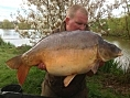 Sam Harris, 4th May<br />36lb 08oz mirror
