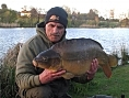 Chris, 5th May<br /><font color=red>PB 32lb 02oz mirror</font>