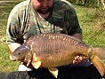 Keiron Hearn, 5th May<br />23lb 01oz mirror