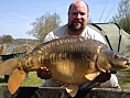 Keiron Hearn, 5th May<br />31lb 10oz mirror