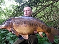 Justin Holness, 12th May<br />22lb mirror