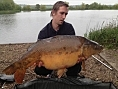 John, 22nd May<br />37lb 12oz mirror