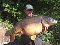 Alan Jackson, 26th May<br />24lb 10oz mirror