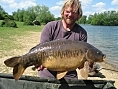 Mark Wilson, 27th May<br />24lb mirror