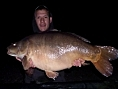 Paul Chown, 14th Jun<br /><font color=red>PB 39lb 10oz mirror</font>