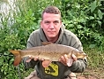 Mark Woollaston, 24th Jun<br />River Wye Barbel