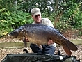 Alan Jackson, 17th Aug<br />34lb mirror