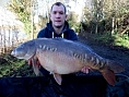 Paul Chown, 13th Jan<br />30lb 06oz mirror
