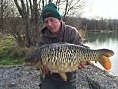 Lloyd Bennett, 30th March<br />13lb 06oz scaley