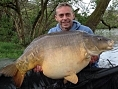 Mark Brett, 20th Apr<br /><font color=red>PB 57lb 10oz mirror</font>