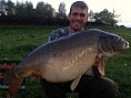 Tom Stirman, 26th Apr<br /><font color=black>45lb 13oz Mirror</font>