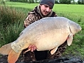 Tristan Sharp, 3rd May<br /><font color=red>51lb 08oz PB Mirror</font>