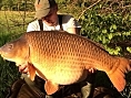 Simon Firth, 3rd May<br /><font color=red>54lb 06oz PB Common</font>