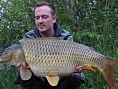 Nick Howard, 2nd May<br /><font color=black>32lb 07oz Common</font>