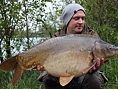 Nick Howard, 4th May<br /><font color=black>34lb 01oz Mirror</font>
