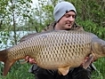 Nick Howard, 4th May<br /><font color=black>37lb 11oz Common</font>